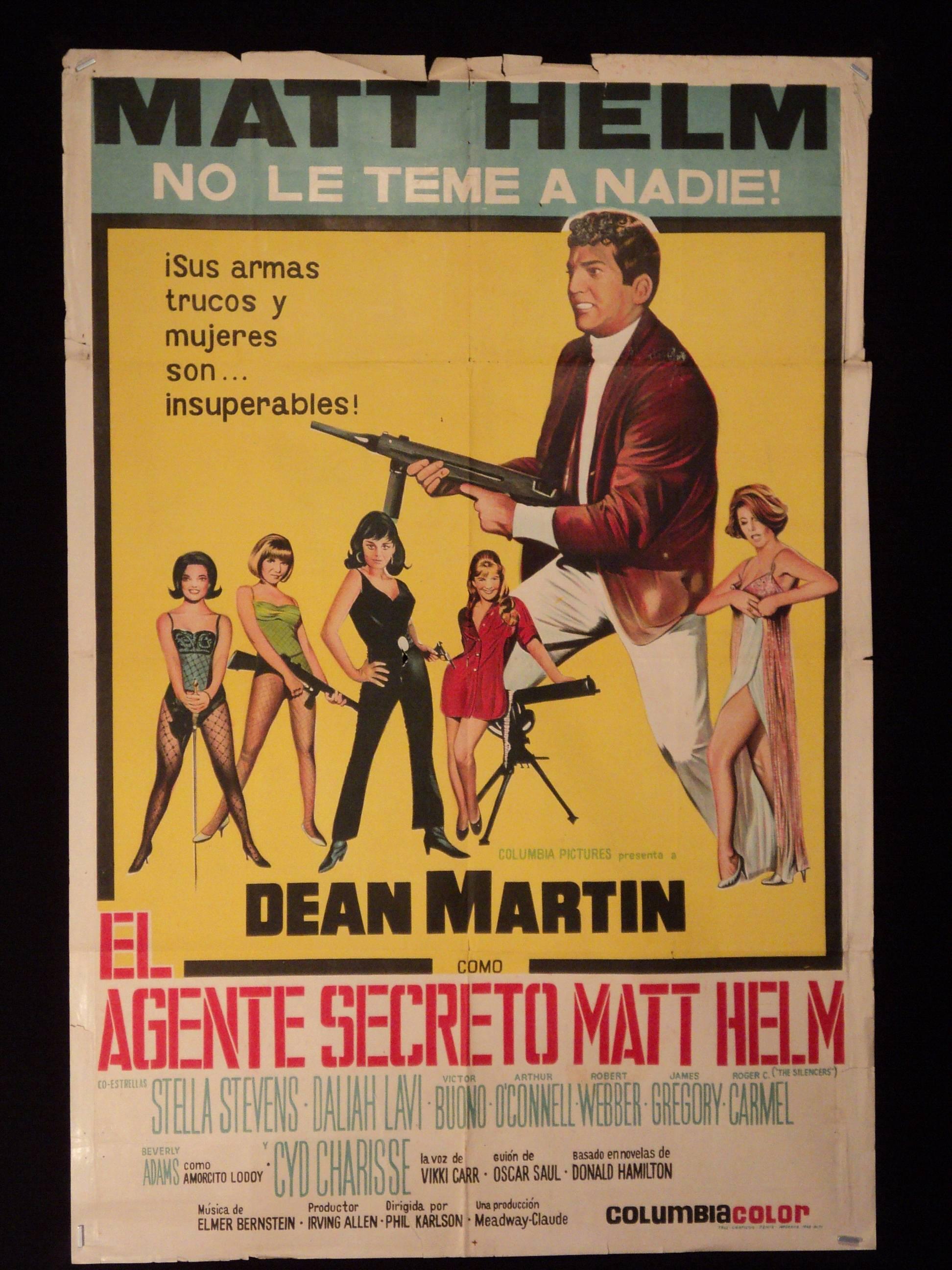 Dean Martin as Matt Helm